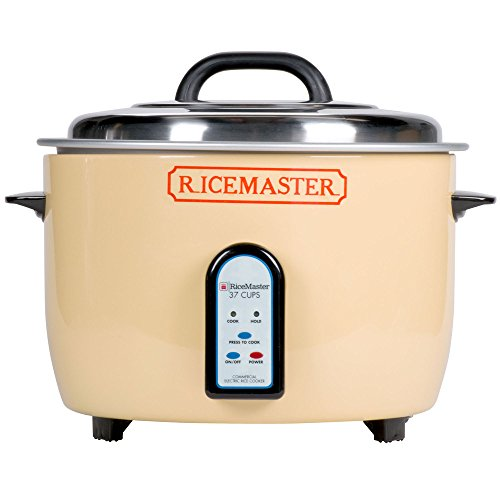 Town 57138 RiceMaster Rice Cooker/Steamer electric 37 cup capacity