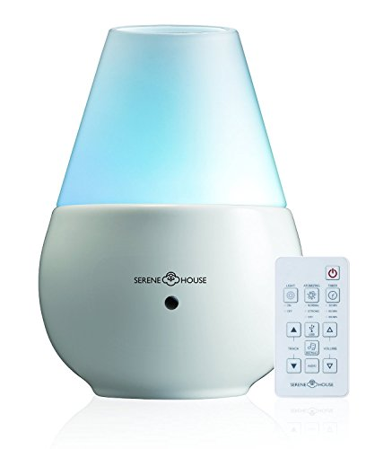 Serene House Vulcan Ii Scentilizer/Aroma Diffuser, White