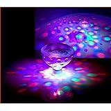 Victsing® 5 Light Patterns Underwater LED Disco AquaGlow Light Pond Pool Spa Hot Tub