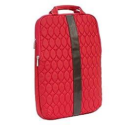 Lug Stride 15 Laptop Pouch, Poppy Red, One Size