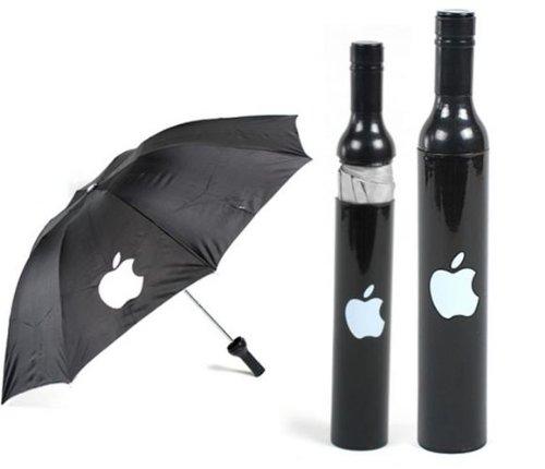 折り畳み傘 ボルトタイプ アップル APPLE 黒 MLS-022