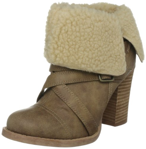 Chinese Laundry Women's Big Deal Camel Distressed Ankle Boots 5052125662446 4 UK