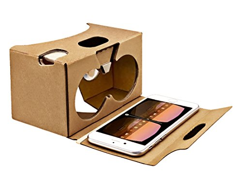 Blisstime® Google Cardboard V2.0 3d Glasses Vr Virtual Reality Cardboard Kit 2015 with Headband Fit for 3--6inch Screen