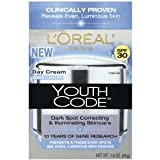 L'Oreal Paris Youth Code Dark Spot Correction Day Cream Spf 30 (Pack Of 2)