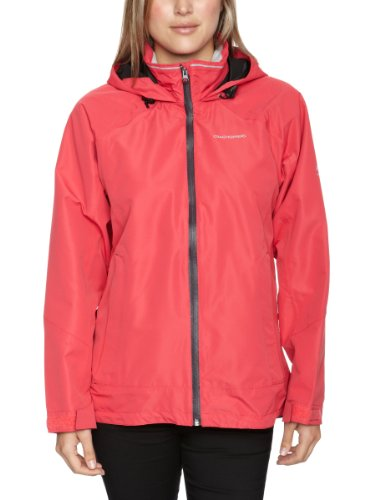 Craghoppers Vision Women's Waterproof Jacket - Rose, Size 20