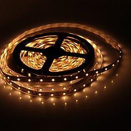 Ch&Ch Strisce luminose LED flessibili 5 - 300 W ) - DC12 - ( V ) - 3528 SMD - Bianco caldo