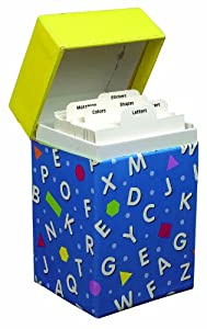 Eureka Learning Playground, Early Learning Flashcard Box, General Learning (435420)