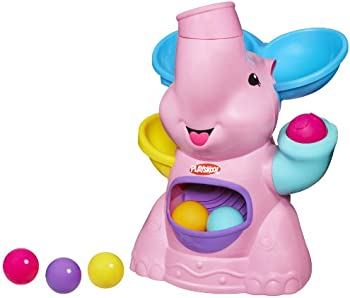 Playskool Pink Elephant Busy Ball Popper