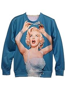 TM Men sport rock Conch shells round neck Sweater Shirts Outerwear autumn