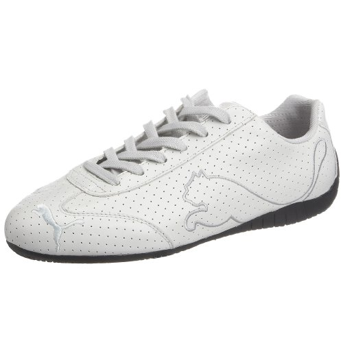 Puma Men's Big Cat Speed Perf White/Silver Trainer 301868-01 6 UK