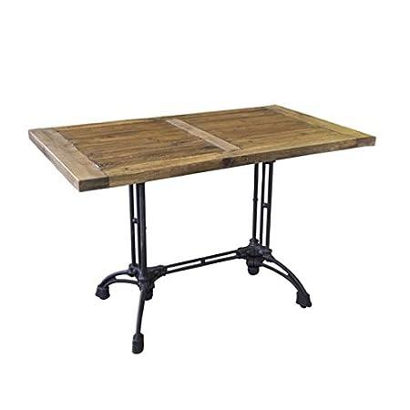 Table rectangle bois Brasserie