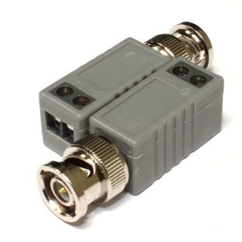 (20) Pieces of 1 Channel Passive CCTV Camera BNC Video Balun Transceiver for Security Camera System - BNC to UTP CAT5 20