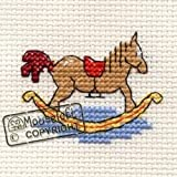 Mouseloft Mini Cross Stitch Kit Rocking Horse Stitchlets Collection