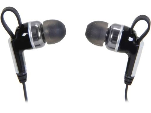 Rosewill E-860 Black R-Studio Noise Isolating Tangle-Free Flat Cable Earbuds