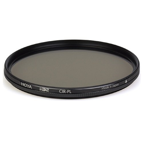 Hoya HD2 82mm Cir-PL 8-Layers Multi-Coated 1mm Thick Water & Oil Repellent, Scratch & Stain Resistant Glass Filter
