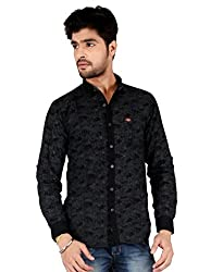 Appollo Men's Super Fine Cotton Casual Shirt-M