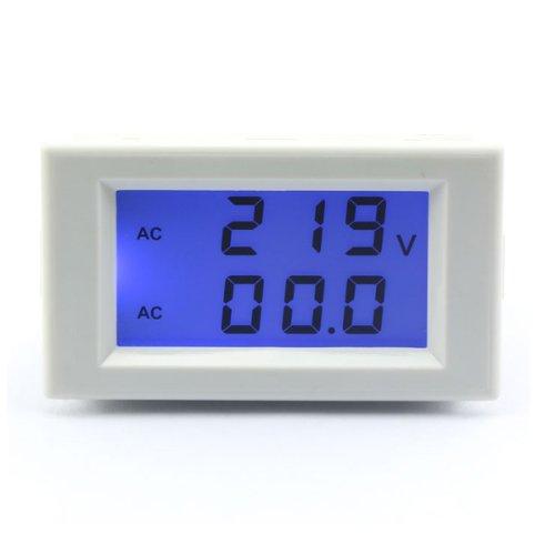 Drok Digital Volt Ampere Amp Voltmeter Ammeter 200-500V 50A Lcd Voltage Measuring Current Sensing Resistors Two Wires