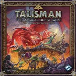 Buy Fantasy Flight Games - Fantasy Flight Games Talisman: The Magical Quest Game, 4th Edition
