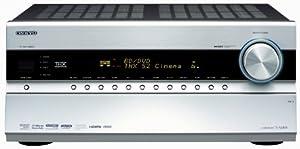 Onkyo TX-NR808 7.2 AV-Receiver (THX Select2 Plus, HDMI 1.4, 3D, 7 HDMI Eingänge und 2 Ausgänge; Internet-Radio) silber