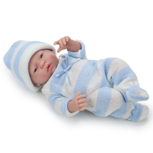 Jc Toys Mini La Newborn Real Boy Face A Doll