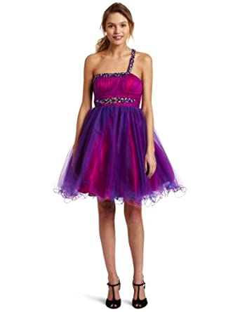 Jump Juniors Pretty Girl Party Dress, Maganta, 5/6