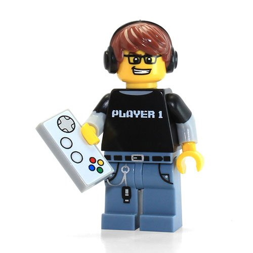 LEGO Series 12 Collectible Minifigure 71007 - Video Game Guy Gamer - 1