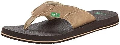 Sanuk Men's Fault Line Thong Sandal