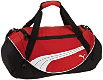 PUMA Men's Teamsport Formation 24 Inch Duffel Bag, Red, One Size