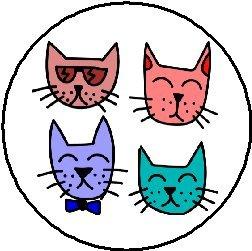 Cool Cat Faces 1.25