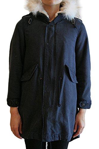 【正規取扱店】 beautiful people ビューティフルピープル 14-15A/W c/s moleskin mods coat モッズコート navy ネイビー