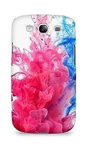 AMEZ designer printed 3d premium high quality back case cover for Samsung Galaxy S3 i9300 (splash colour smoke)