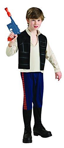 Rubie's - Costume da Han Solo Bambino, 3-4 anni