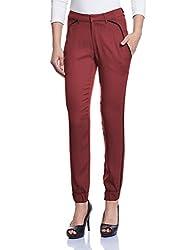 Madame Women's Pants (M1429602_Wine_Small)