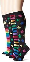 K. Bell Socks Women's Mix It Up Knee High 4 Pack Sock