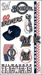 MLB Temporary Milwaukee Brewers Tattoo at Amazon.com