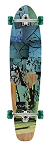 Goldcoast Complete Longboard-Rebirth-Moon Skateboard