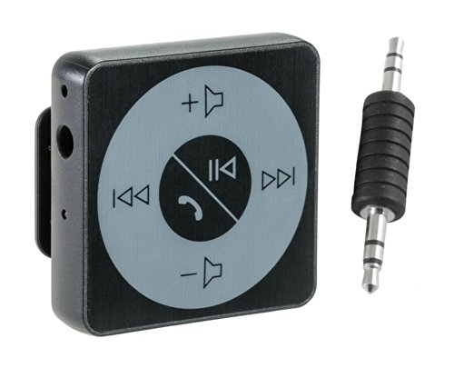 Abco Tech Bluetooth Hands-Free Calling & A2Dp Audio Streaming Adapter/Receiver For 3.5Mm Devices, Black