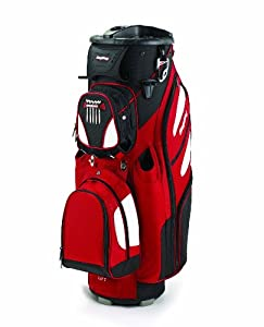 Bag Boy Revolver LE Cart Bag, Red/Black/White