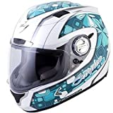 Scorpion Women's EXO-1100 Tiffany Helmet – Small/Turquoise