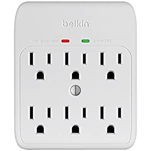 6outlet Surge Wht from BELKIN