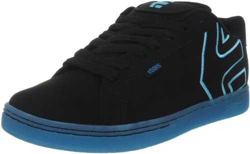 Etnies Men's Fader Sports Shoes - Skateboarding 4101000203 Black/Black/Blue 545 10.5 UK