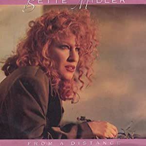 """BETTE MIDLER - FROM A DISTANCE - 7"""" VINYL / 45"""