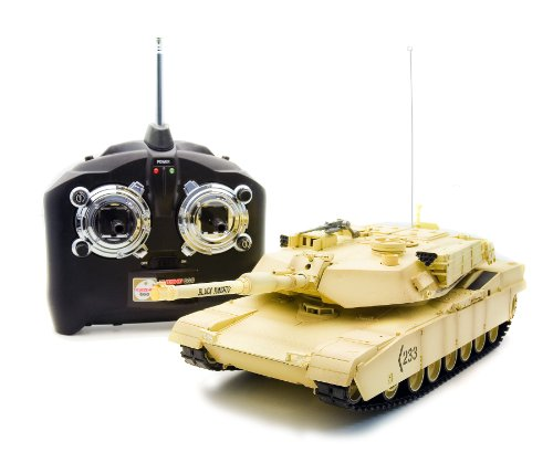 RC virtual tank Abrams (japan import)