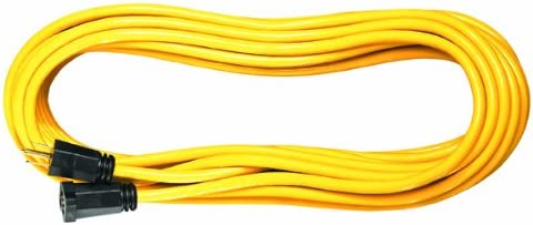 Voltec 05-00110 163 SJTW Outdoor Extension Cord 100-Foot Yellow