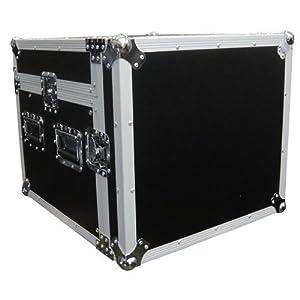 Mr. Dj CASE4000 Mini Flight Chest Style Dj Case with Mixer and CD Configurable