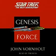 Star Trek, The Next Generation: The Genesis Force (Adapted): Star Trek, The Next Generation: Genesis Wave, Book 4  by John Vornholt Narrated by Tim Russ