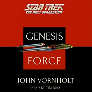 Star Trek, The Next Generation: The Genesis Force (Adapted) Audiobook