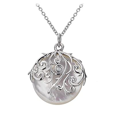 Mother of Pearl Orb Pendant