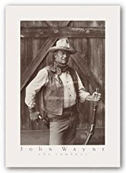 "John Wayne - The Cowboys by Bob Willoughby 24.75""x16.75"" Art Print Poster"