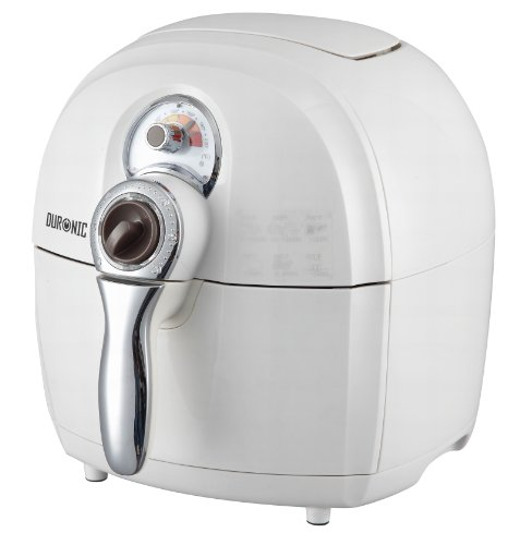 Duronic AF1 /W Healthy Oil Free Air Fryer Multicooker - Air Circulating Technology - White - free recipe book